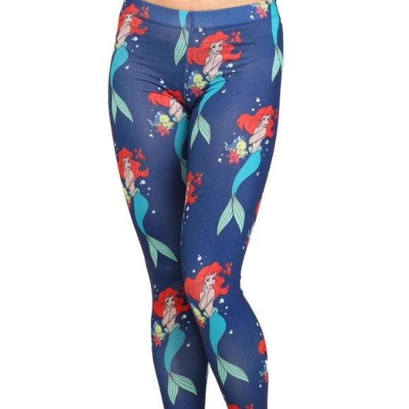 2f0ebb7c229229 Disney Pants | The Little Mermaid Leggings | Poshmark